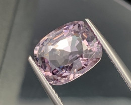 4.11 Cts Top Quality Burma Lavender Purple Natural Spinel Unheated/Untreate