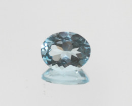 2.85 Ct Sky Blue Topaz  Faceted Oval 10x8mm.(SKU 452)