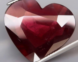 20.37 Ct.100% Natural Earth Mined   Raspberry Red Rhodolite Garnet  Unheate