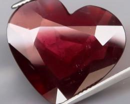 20.37 Ct.100% Natural Earth Mined   Raspberry Red Rhodolite Garnet  Unheate