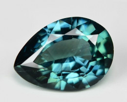 0.80 Cts Amazing Rare Natural Fancy Blue Sapphire Loose Gemstone