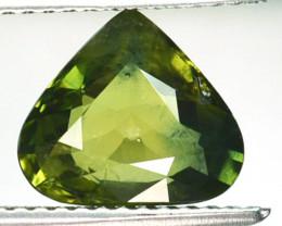 ~PRETTY~ 2.76 Cts Natural Sapphire Beautiful Green Pear mix Cut Madagascar