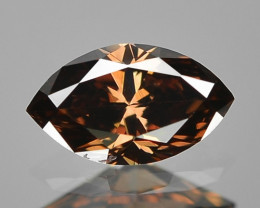 0.18 Cts Amazing Fancy Brown Color Natural Loose Diamond