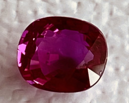 GIL Certified  0.9 Carats Ruby Gemstone