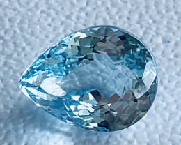 GIL Certified 9.21Carats Aquamarine Gemstone