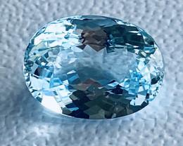 GIL Certified 9.21 Carats Aquamarine Gemstone