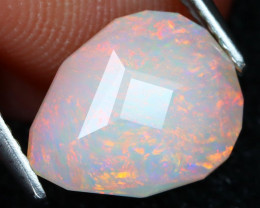 Welo Opal 1.84Ct Master Cut Natural Ethiopian Flash Color Welo Opal A1705