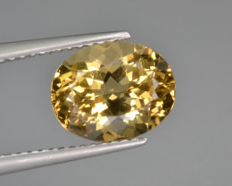 Natural Heliodor 2.90 Cts Top Luster