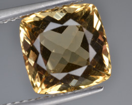 Natural Heliodor 3.35 Cts Top Luster
