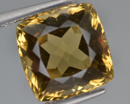 Natural Heliodor 3.59 Cts Top Luster