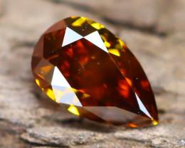 Champagne Orange Diamond 0.25Ct Untreated Genuine Fancy Diamond B1703