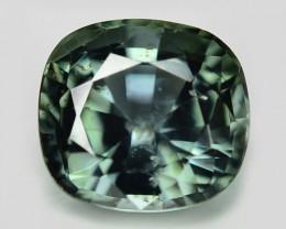 Ceylon Sapphire 1.23 Cts Rare Green Color Natural Fancy Gemstone