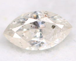 0.20Ct Natural Untreated Marquise Fancy White Diamond BM0309