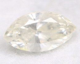 0.23Ct Natural Untreated Marquise Fancy White Diamond BM0311