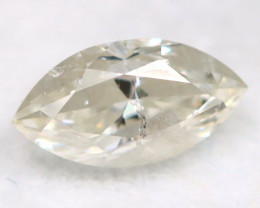 0.20Ct Natural Untreated Marquise Fancy White Diamond BM0319