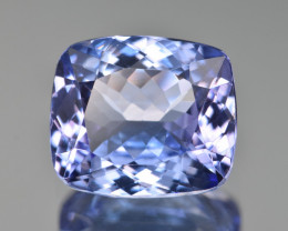 Natural Tanzanite 4.63 Cts Top Grade  Faceted Gemstone