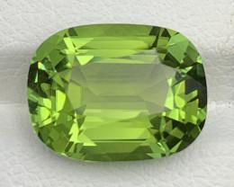 7.01 CT Natural Mint apple Green Color Tourmaline Gemstone