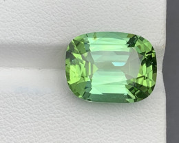 8.36CT Natural Mint Apple Green Color Tourmaline Gemstone Top luster