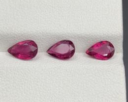2.00 CT Natural Color Rubellite Tourmaline Gemstone