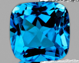 17.70 mm Cushion 24.83cts Swiss Blue Topaz [VVS]
