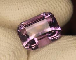 Master Cut Fancy Advance Emerald Amethyst Gemstone Cut by Master Cutter