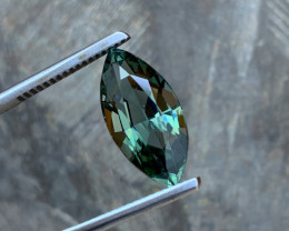 6.03 ct Tourmaline Marquise - Greenish Teal - Loupe Clean