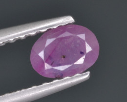 Natural Sapphire 0.51 Cts from Kashmir, Pakistan