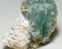 Amazing Natural Blue color Damage free Aquamarine specimen 420Cts-P