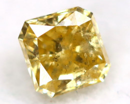 Yellow Diamond 0.16Ct Untreated Genuine Fancy Diamond AT0325