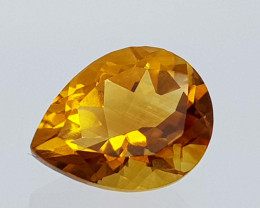 2.29Crt Madeira Citrine Natural Gemstones JI46
