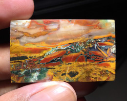 85.90 CT RARE JASPER PICTURE FROM TRENGGALEK INDONESIA