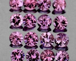 1.20 mm Round 85 pcs Violet Pink Sapphire [VVS]