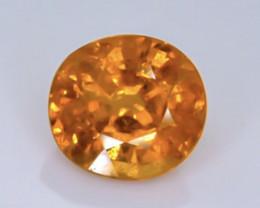 1.43 Crt Natural Spessartite Garnet  Faceted Gemstone.( AB 91)