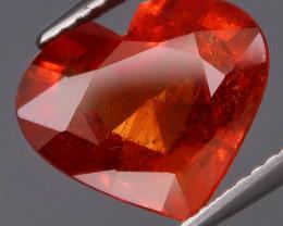 4.90 ct. 100% Natural Earth Mined Fire Mandarin Orange Spessartite Garnet A