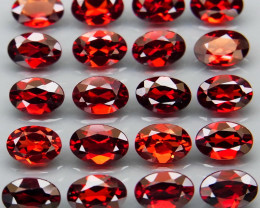 10.08 ct. Natural  Rhodolite Garnet Africa 20Pcs