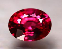 Rhodolite 2.98Ct Natural VVS Purplish Red Rhodolite Garnet DR305/A5