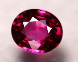 Rhodolite 2.96Ct Natural Purplish Red Rhodolite Garnet ER178/A5