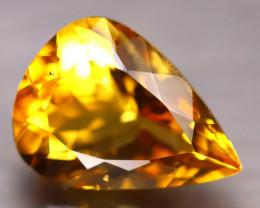 Citrine 9.05Ct Natural Golden Yellow Color Citrine E2214/A2
