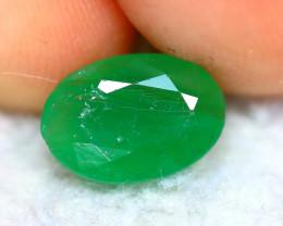 Emerald 1.55Ct Natural Colombia Green Emerald  E2220/A38