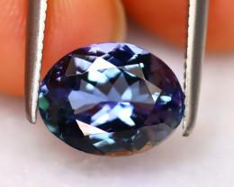 Tanzanite 1.82Ct Natural VVS Purplish Blue Tanzanite DR296/D8
