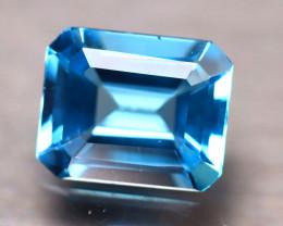 Swiss Topaz 4.63Ct Natural VVS Swiss Blue Topaz D2313/A48