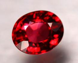 Rhodolite 2.95Ct Natural VVS Red Rhodolite Garnet DR304/A5