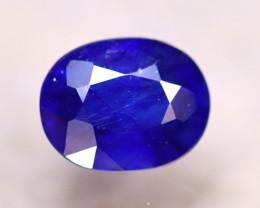 Ceylon Sapphire 2.61Ct Royal Blue Sapphire D2330/A23