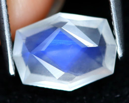 Blue Moonstone 1.35Ct Master Cut Natural Ceylon Blue Moonstone C1905