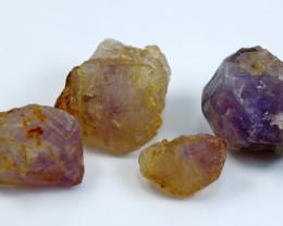 254.00 CT Natural - Unheated Purple Amethyst Crystal Lot