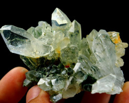 614.00 CT Natural - Unheated Green Chlorite Quartz Specimen