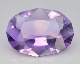 4.35 CT Natural Gorgeous Color Fancy Cut Amethyst