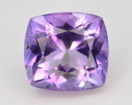 Top Color 3.10 ct AAA Cut Untreated Amethyst