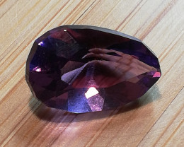 Amethyst, 4.815ct, comming out of your dreams, great stone!
