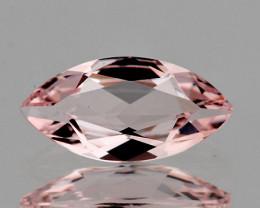 9x4.5 mm Marquise 0.70ct Soft Peach Pink Morganite [VVS]